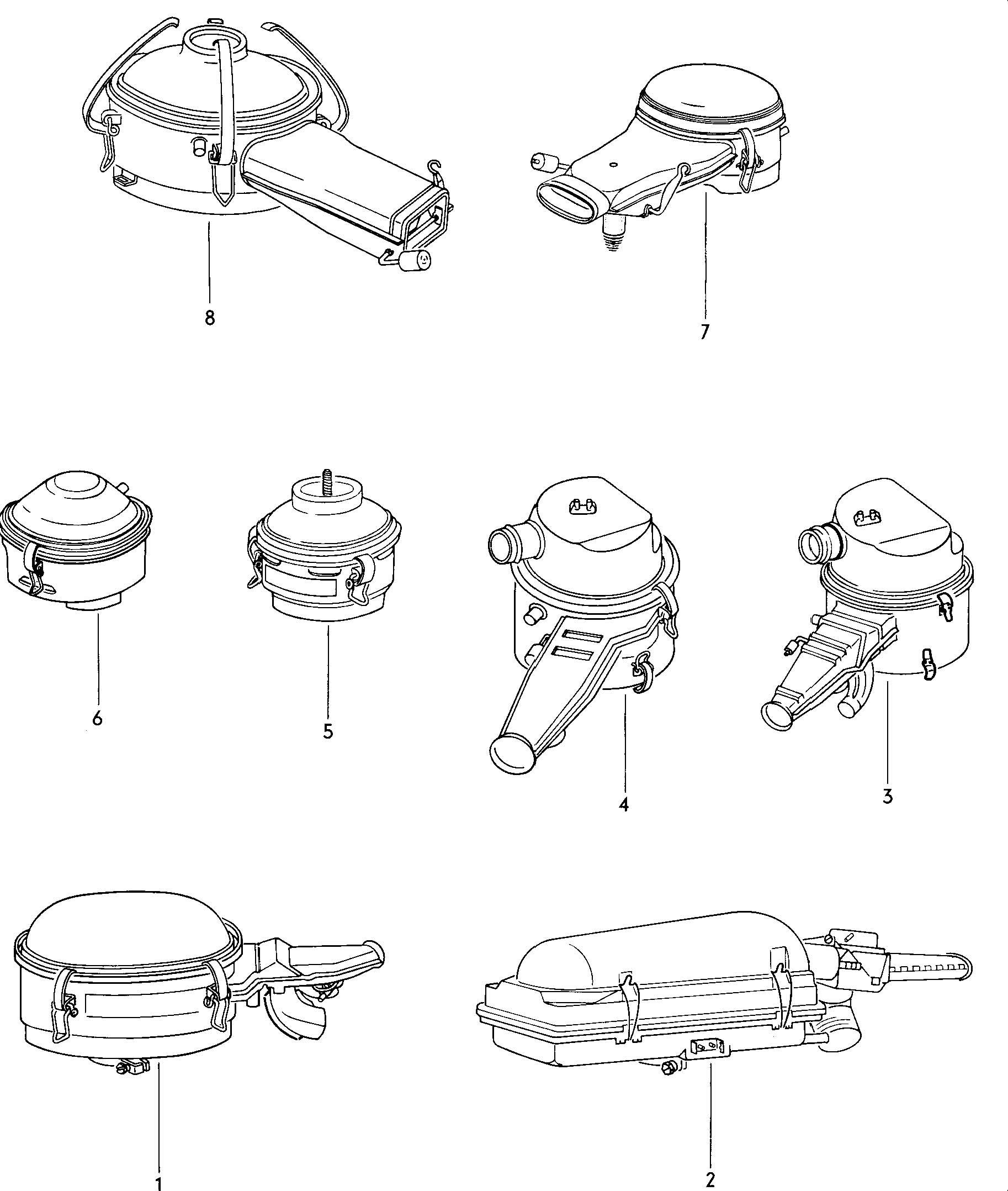 1965 volkswagen beetle air cleaner