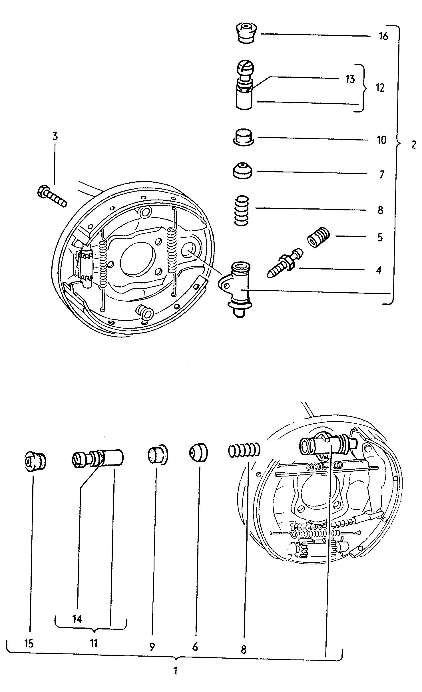 vw beetle brake parts pictures to pin on pinterest