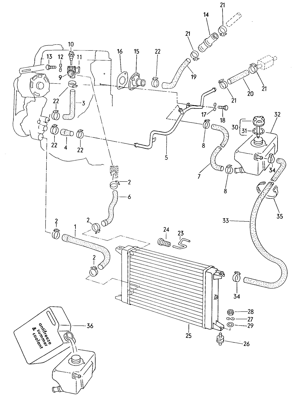 1980 volkswagen pickup water cooling