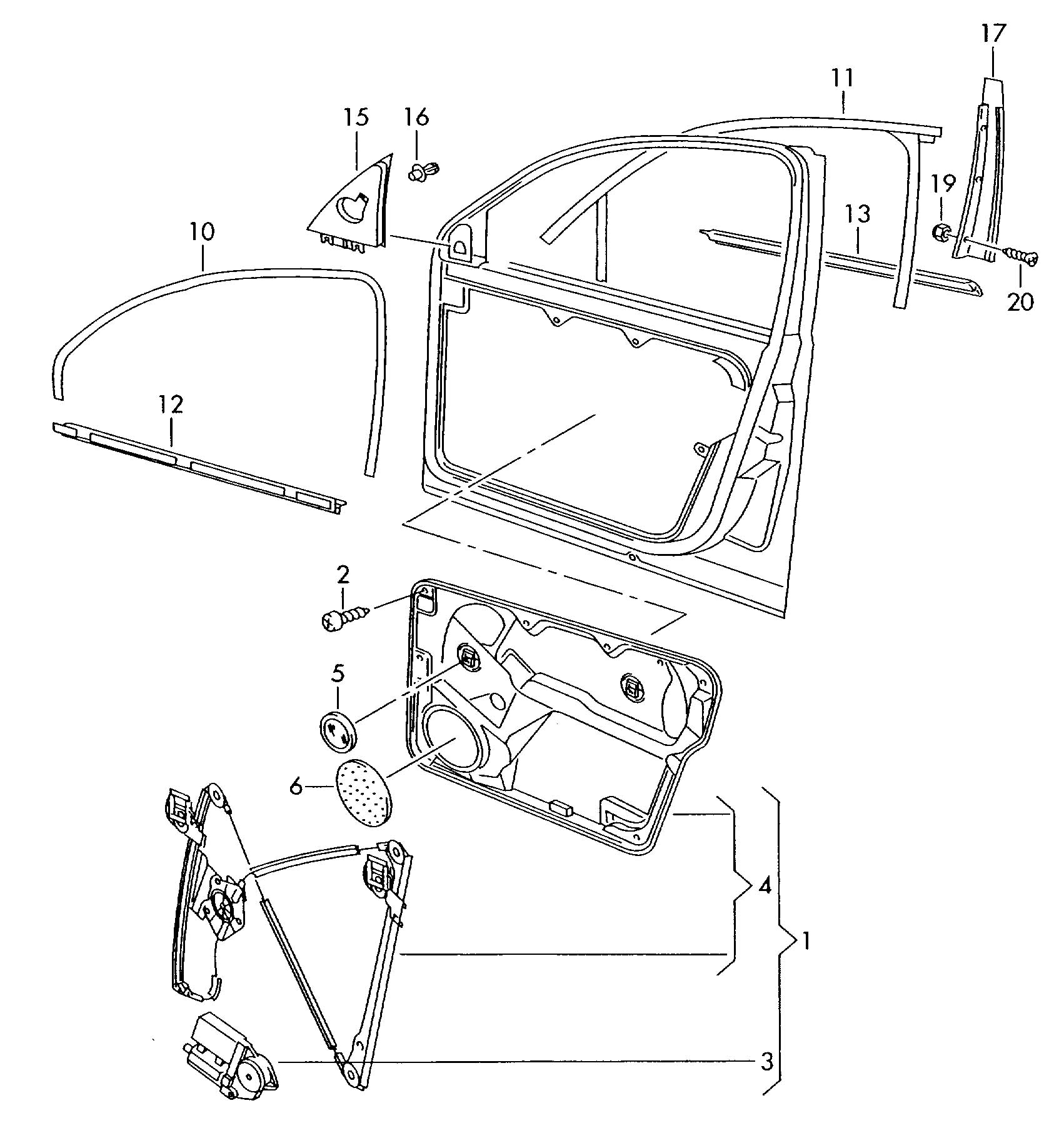 2000 volkswagen golf glass channel window regulator window for 2000 vw passat window regulator