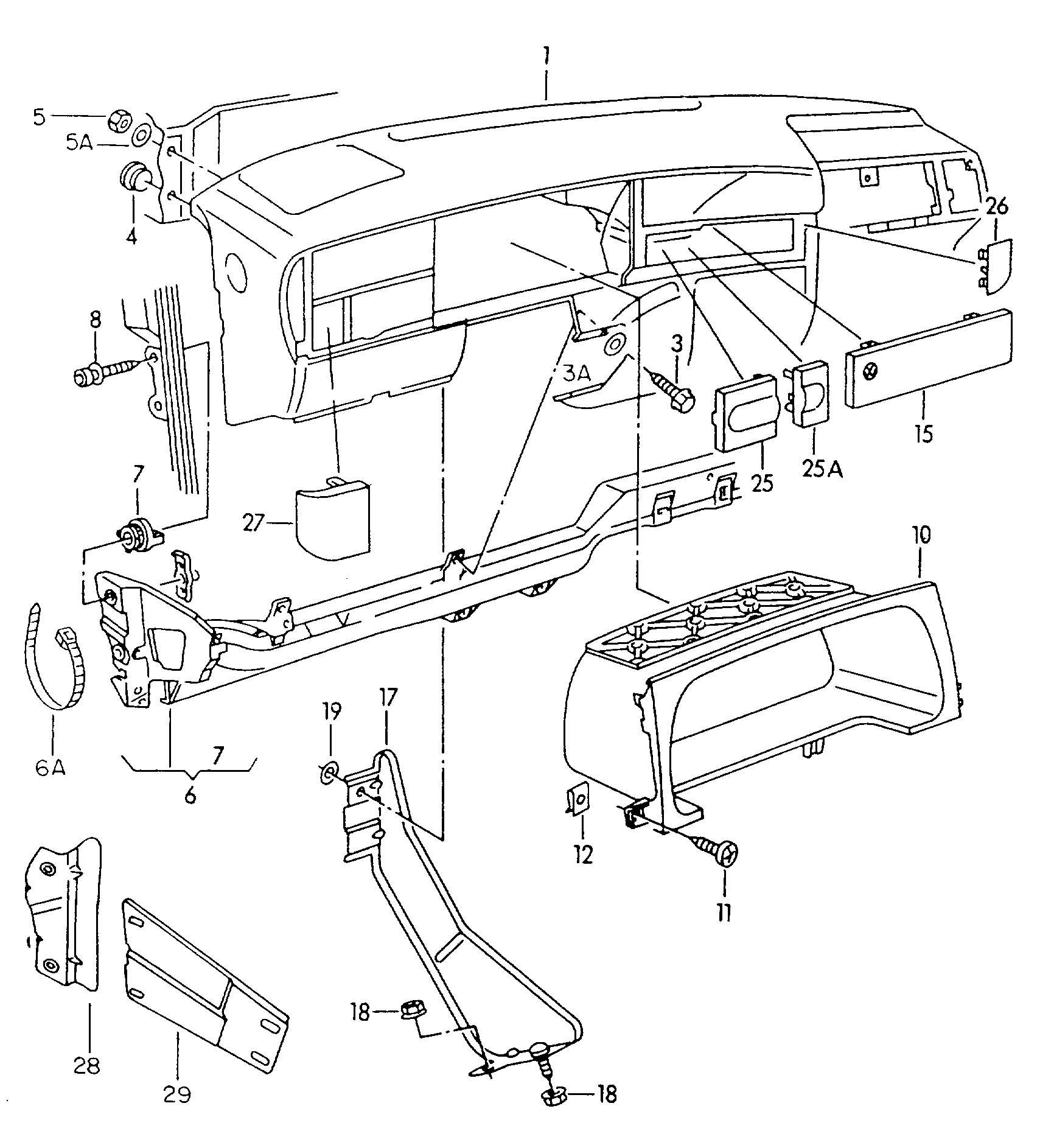 99 vw beetle model diagram