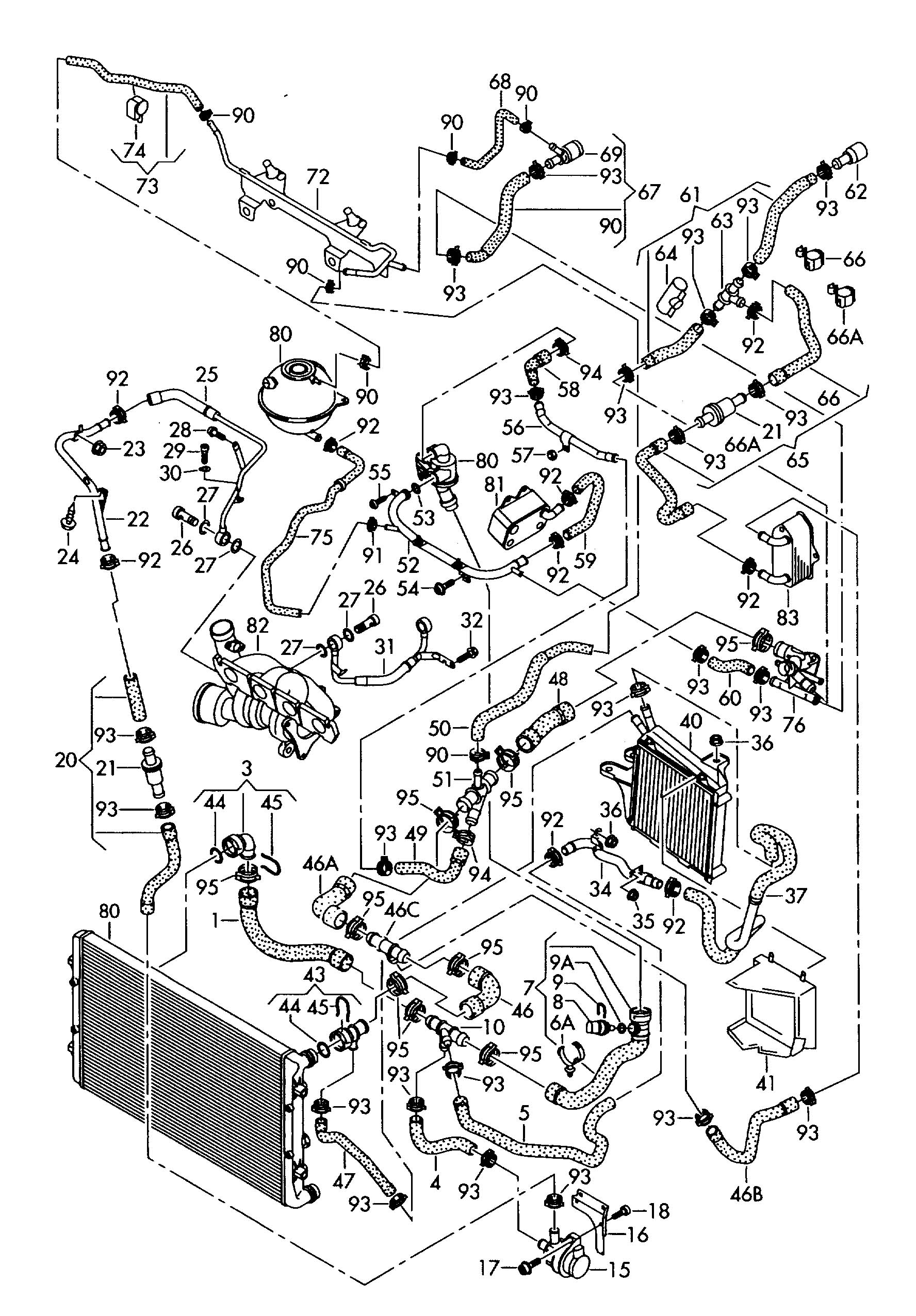 01 Jetta Vr6 Engine Diagram Volkswagen Engine Diagram 1998