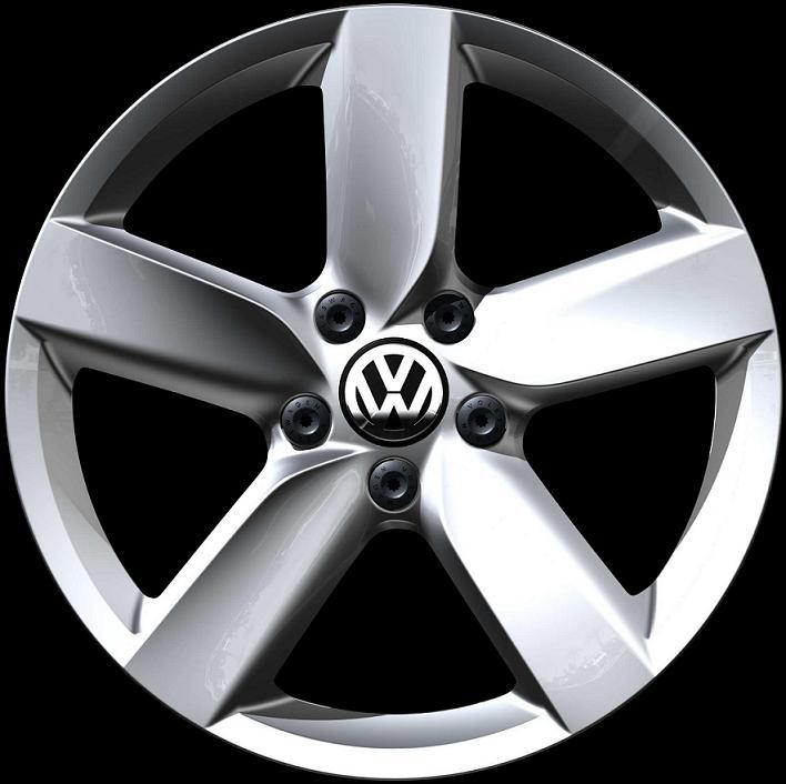 Volkswagen Atlanta: Volkswagen GTI Brilliant Chrome - 5K0601025AA88Z